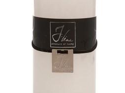 J-Line cilinderkaars wit