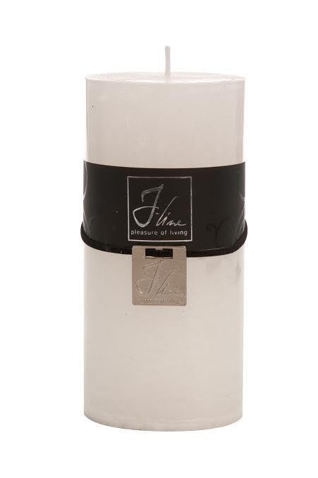 J-Line Cilinderkaars wit J-Line