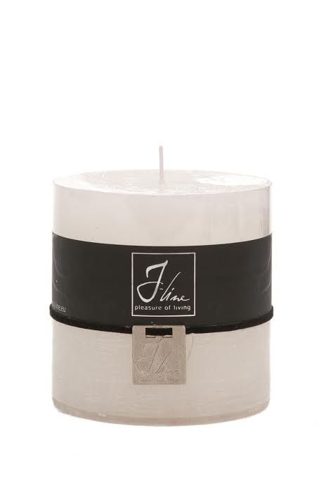 J-Line Candle white
