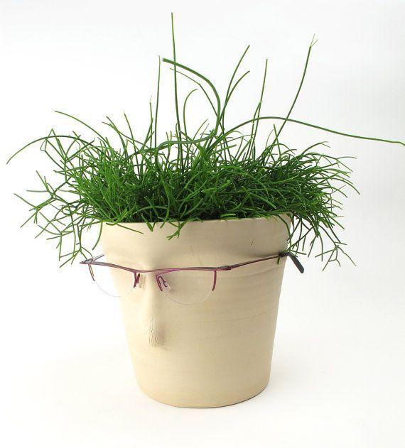 Atelier Oker Plant pot Face