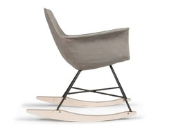 Lyon Béton Hauteville rocking chair