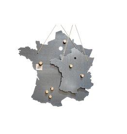 Un Esprit en Plus Metal writing board France Large