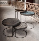 Notre monde Notre Monde Coffee table set round