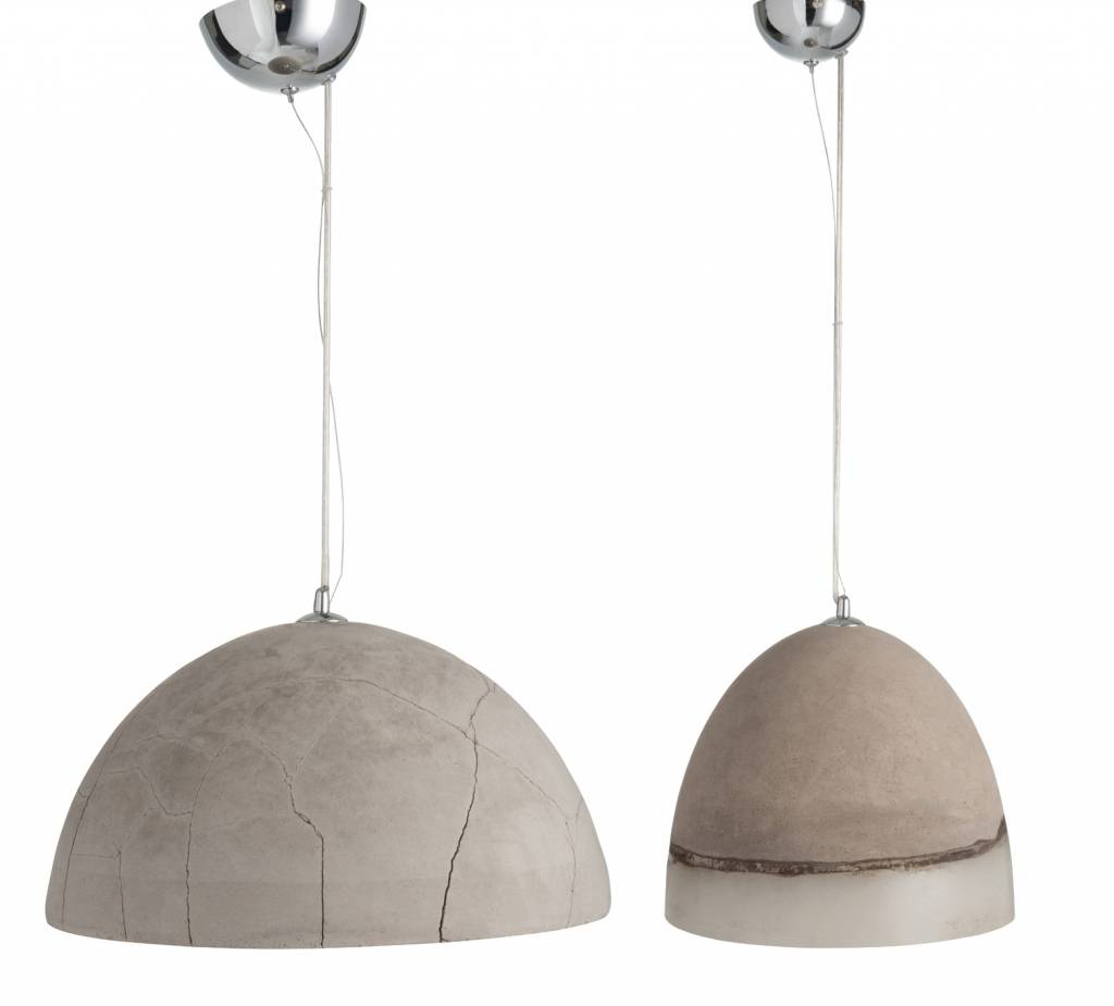 J-Line Hanglamp Cement 31cm