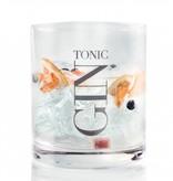 J-Line Gin glass tumbler low