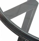 J-Line Bijzettafel metaal & glas