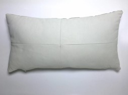 Made by Mimi Cushion leather white