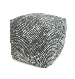 Dome Deco Cube pouf woven