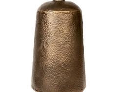 Dome Deco Iron Vase Brons