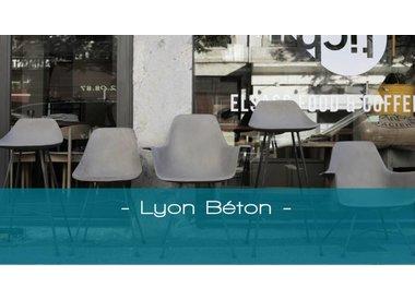 Lyon Béton, betonnen meubels