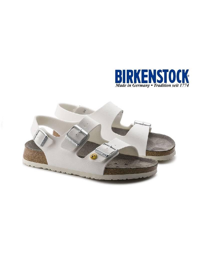 Birkenstock Milano ESD Weiss