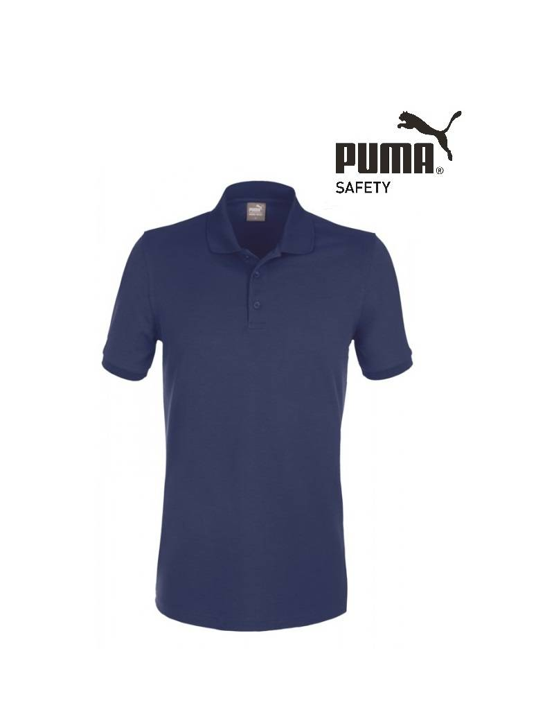 Puma Workwear Puma Wadex Work-Wear Polo-Shirt blau -Herren