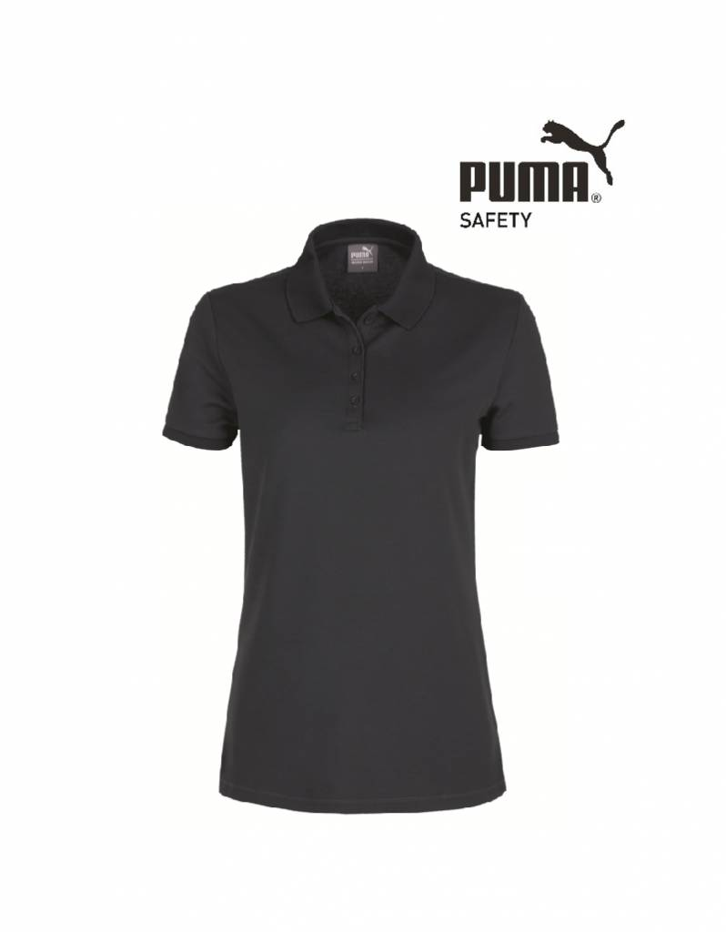 Puma Workwear Puma Wadex Work-Wear Polo-Shirt anthrazit -Damen