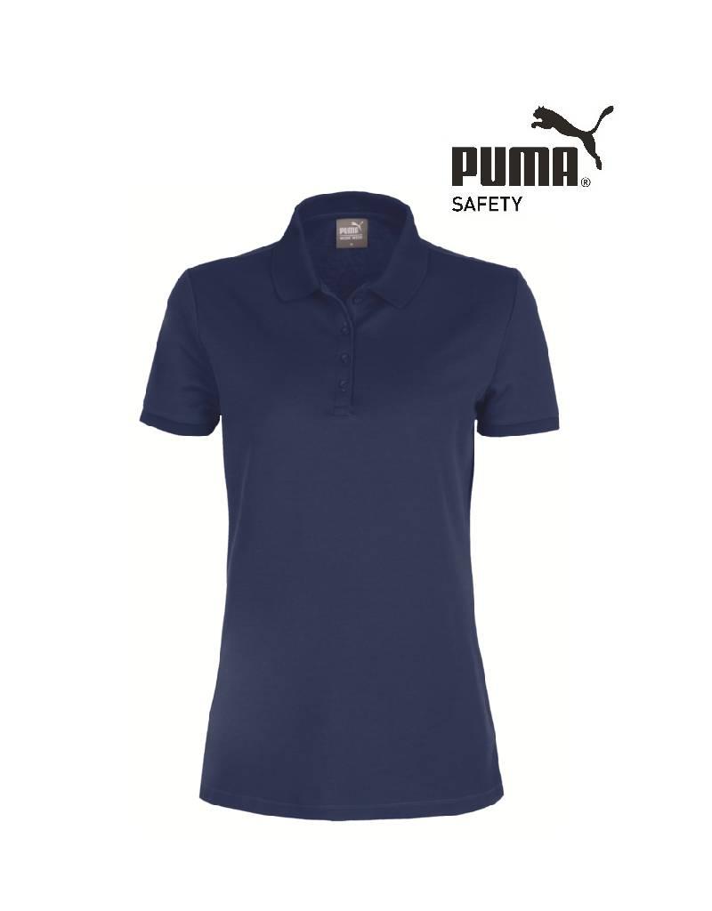 Puma Workwear Puma Wadex Work-Wear Polo-Shirt blau -Damen