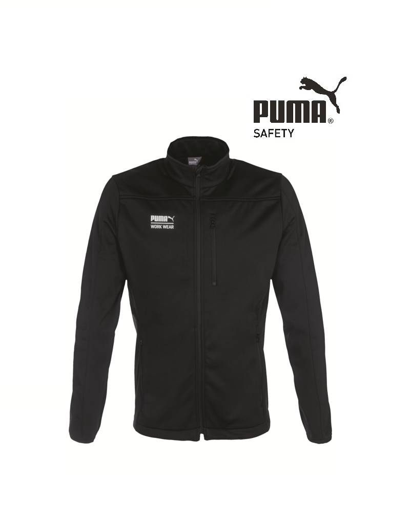 Puma Workwear Puma Watex Softshell-Jacke schwarz