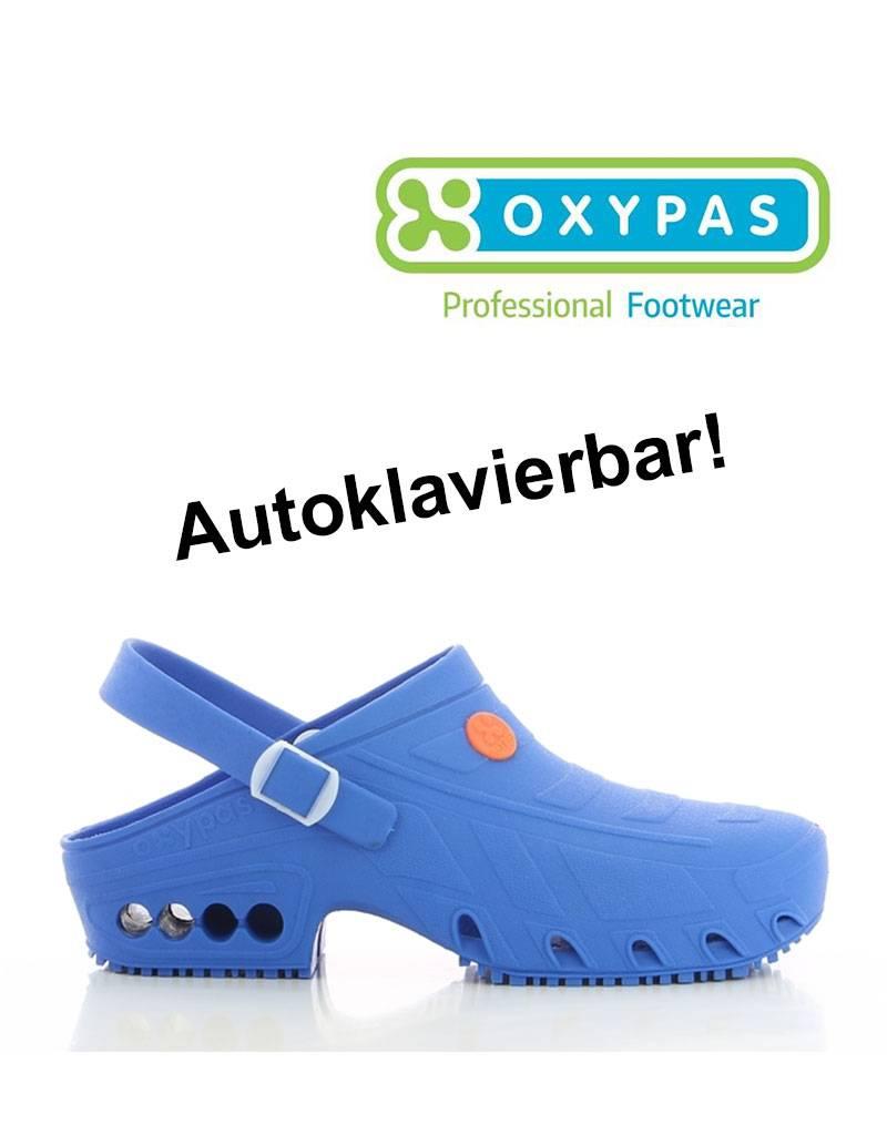 Oxypas Oxypas: OP-Clogs ESD SRA, hellblau