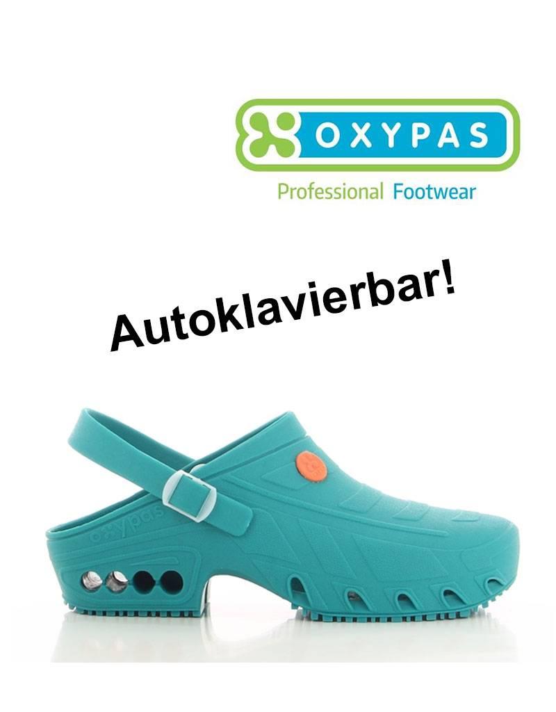 Safety Jogger Oxypas: OP-Clogs ESD SRA, grün