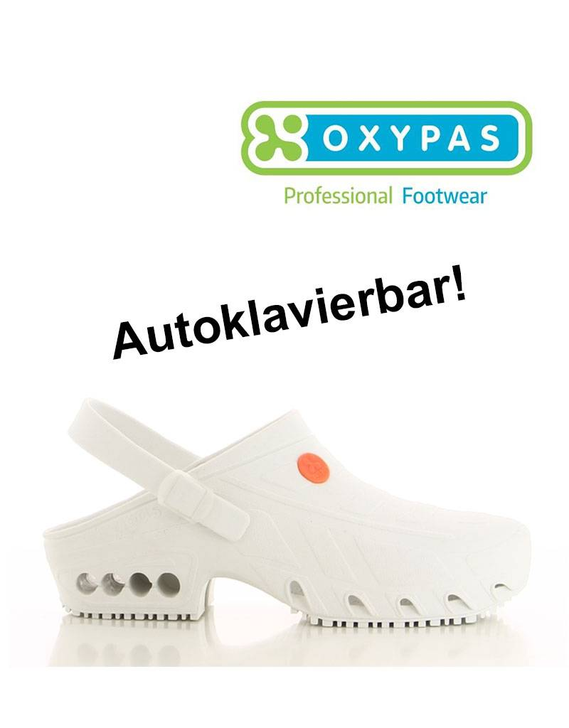 Safety Jogger Oxypas: OP-Clogs ESD SRA, weiss
