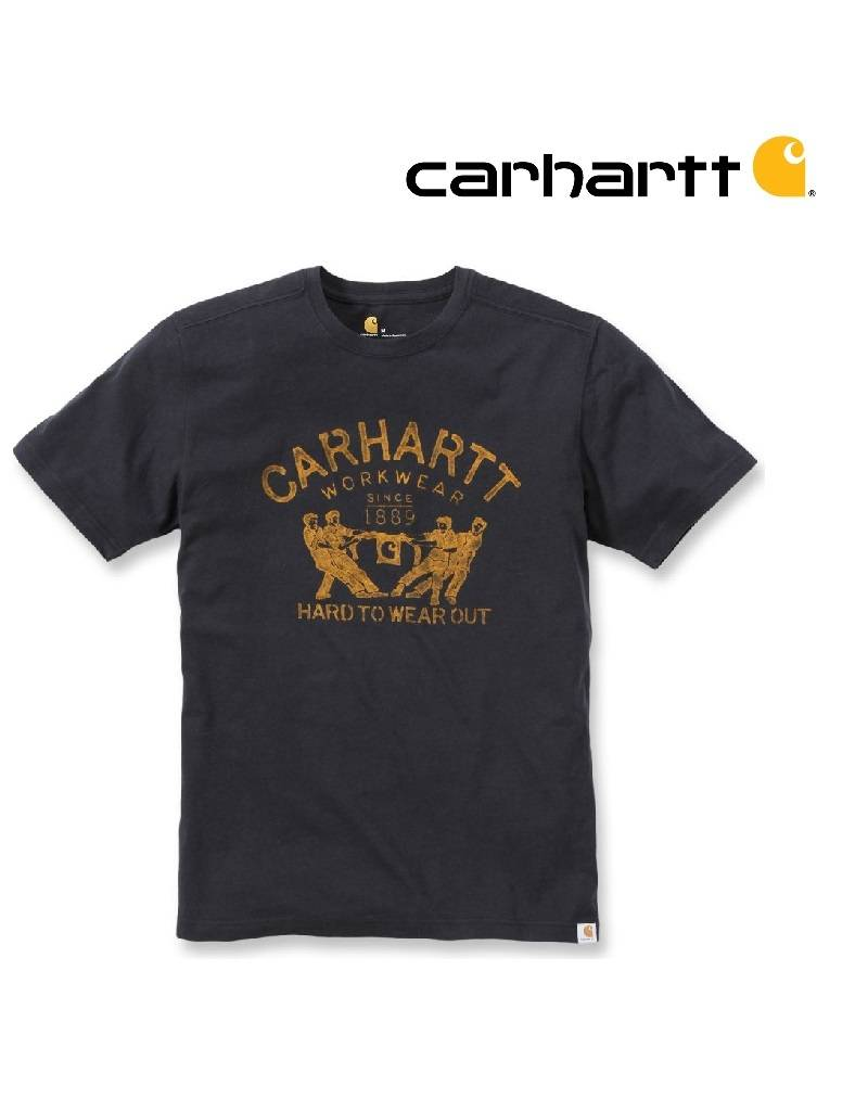 Carhartt Kleider 102097 - T-Shirt Hard to wear out - Schwarz
