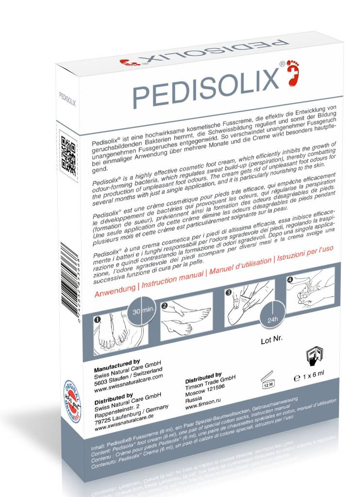 Swiss Natural Care Swiss Natural Care - Pedisolix Creme