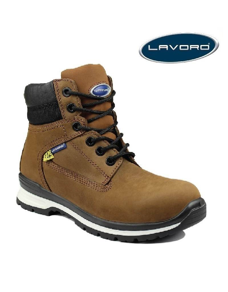 Lavoro E17 Brown S3 ESD - Sicherheitsschuh von Lavoro
