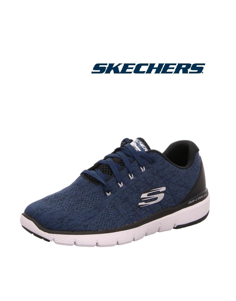 Skechers 52957 BLBK - Skechers, Turnschuh, Mesh