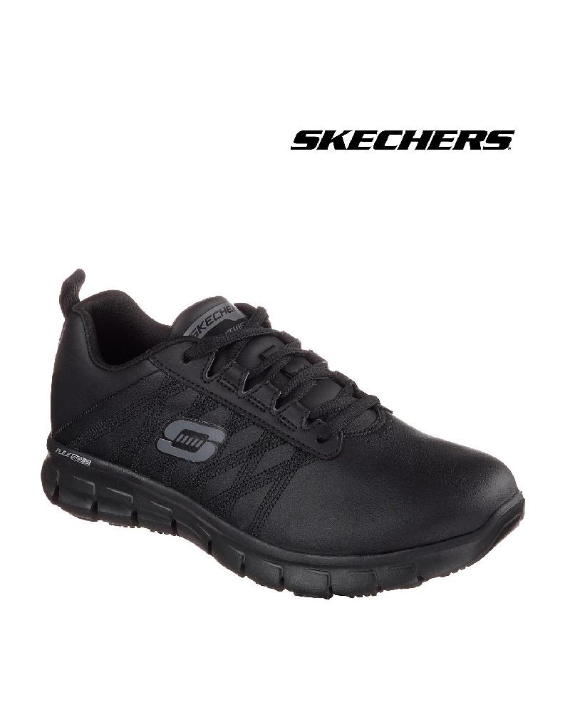 Skechers 76576EC BLK - Berufsschuh für Damen