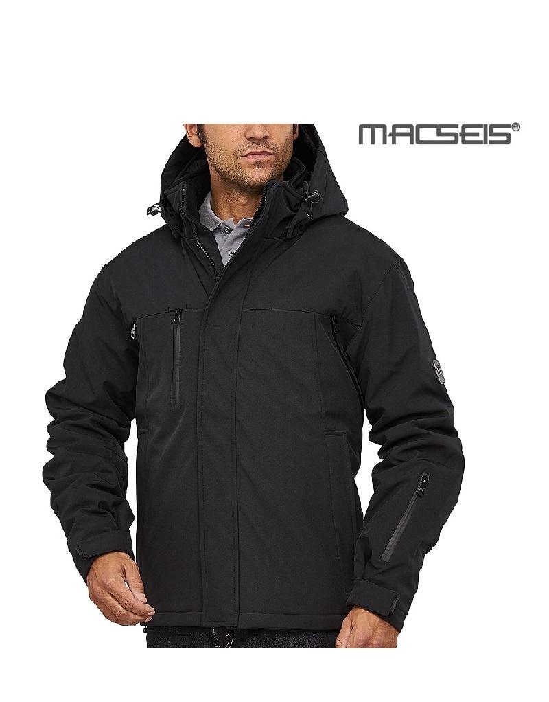 Macseis MS12001 black - Softshelljacke von Macseis