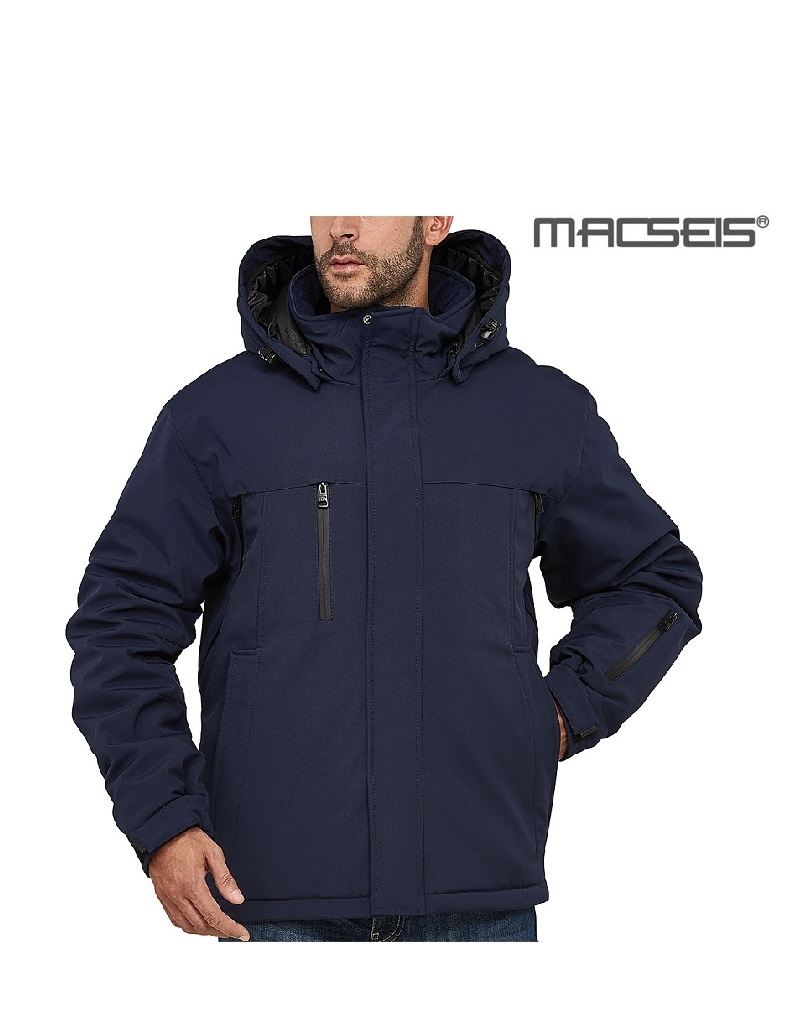 Macseis MS12002 blue - Softshelljacke von Macseis