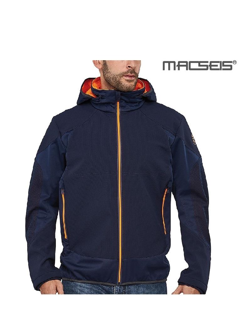 Macseis MS40003 blue - Softshelljacke von Macseis