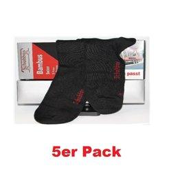 Bambus Kneuss Qualität 41443 - Bambus Socken, 5er Pack