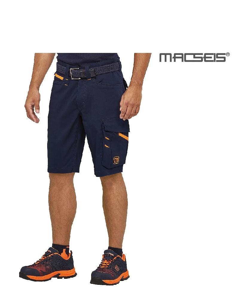 Macseis MWW200002 blue - Kurze Arbeitshose