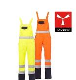 Payper Skill - Warnschutz-Latzhose in Gelb oder Orange mit Reflexstreifen