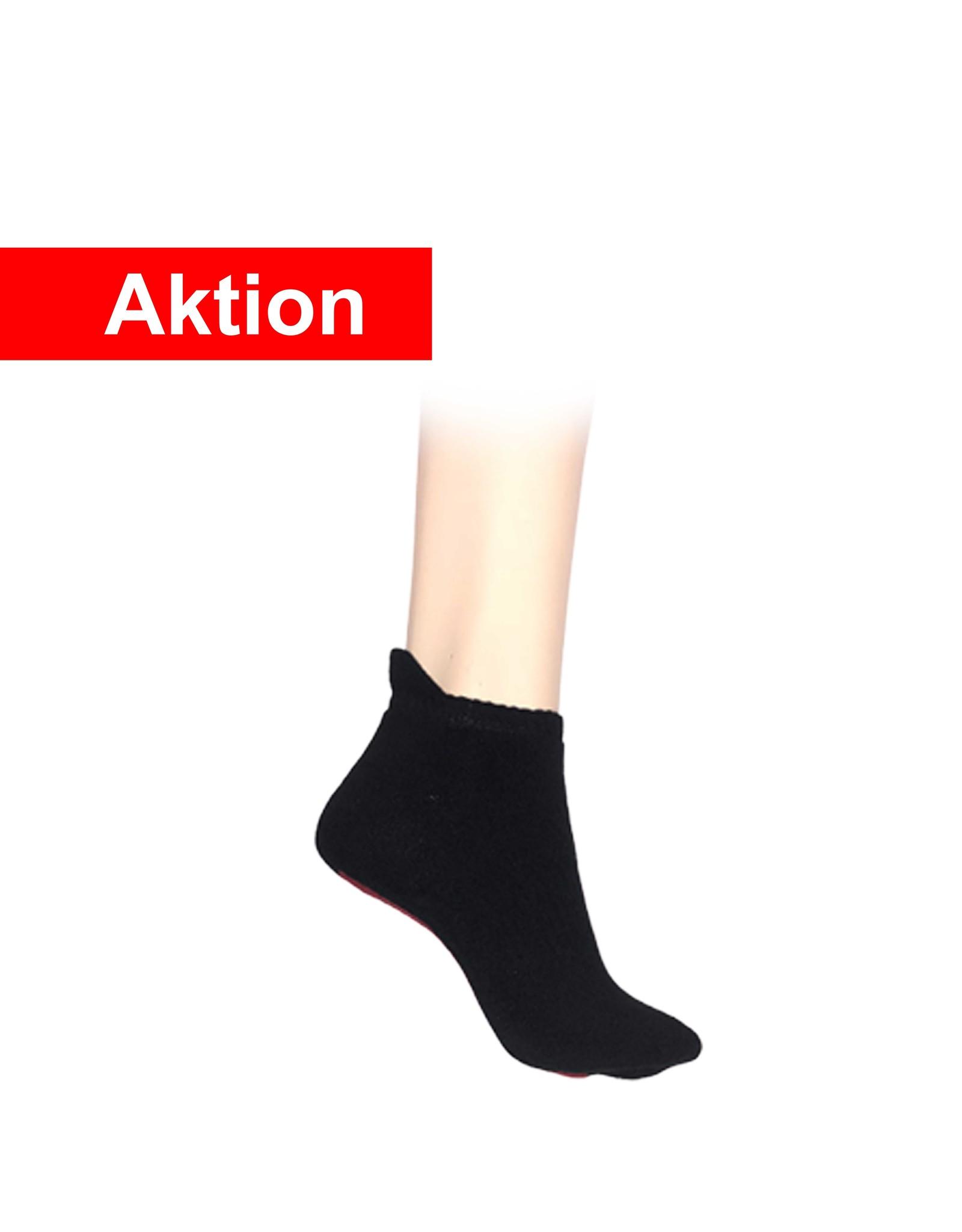 5 Paar Sneaker Socken - schwarz