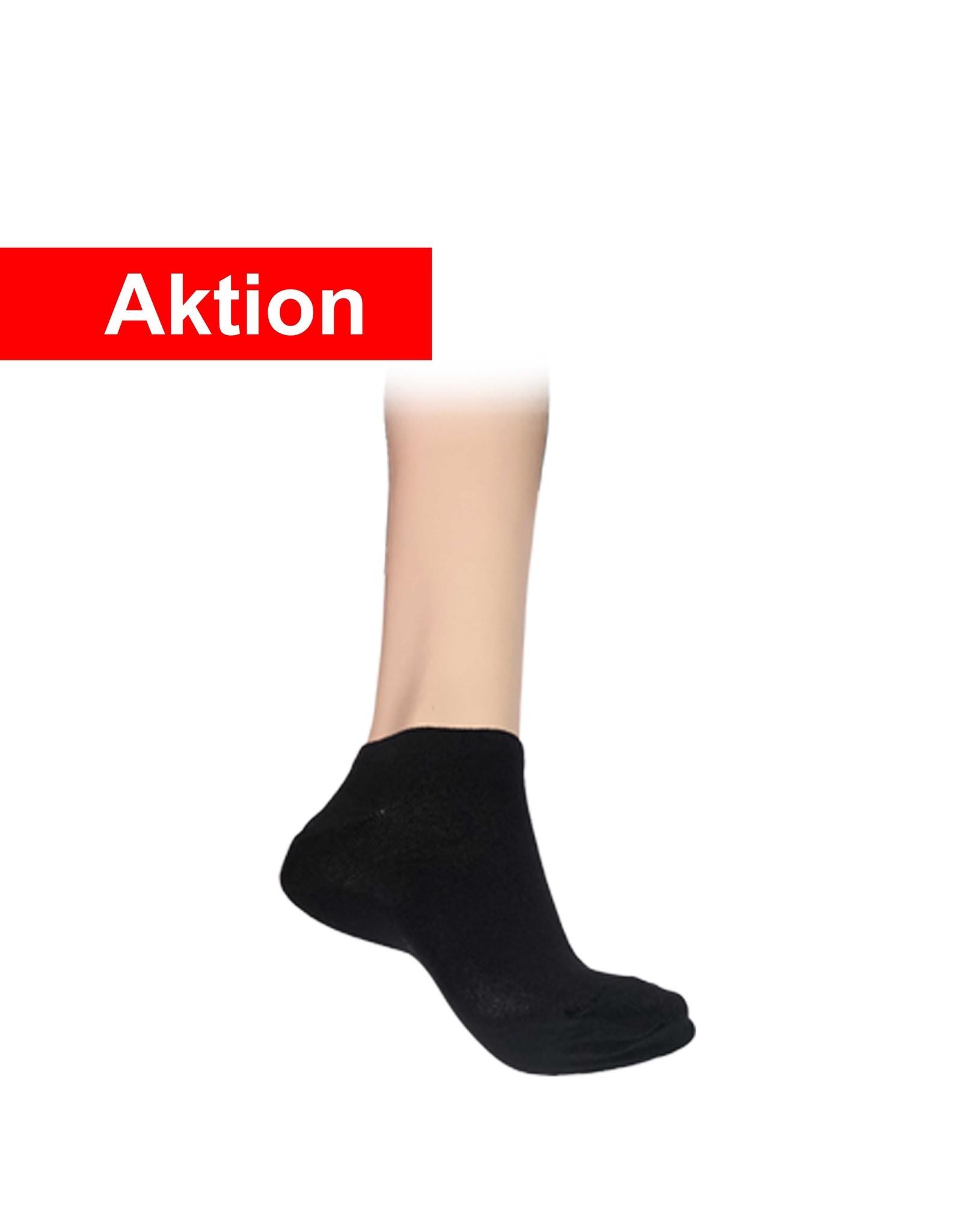 10 Paar Sneaker II Socken  - schwarz