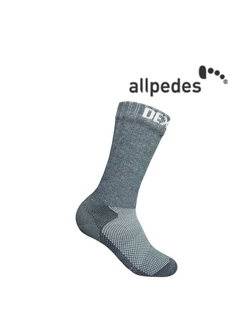Allpedes Allpedes, Wasserfeste socken, Trekking grau