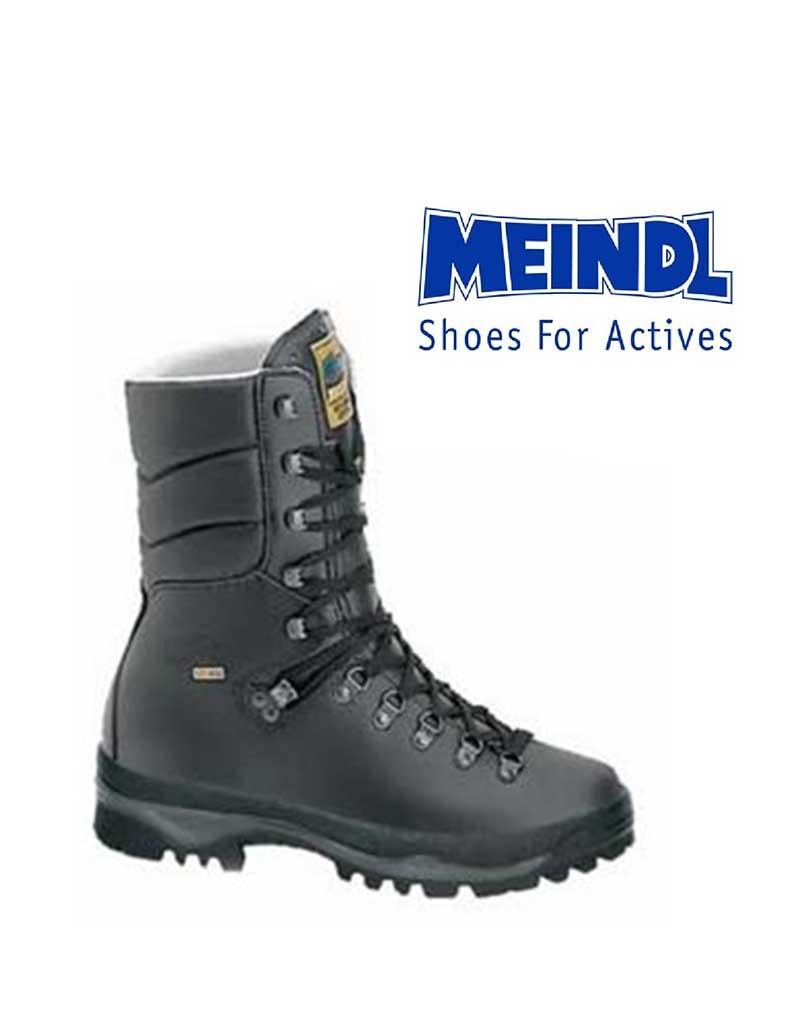 Meindl Sicherheitsschuhe Army Pro Active, Material: Leder Textil, Farben: schwarz