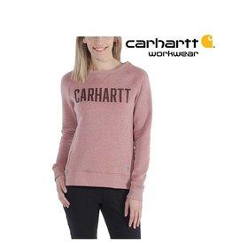 Carhartt Kleider 103926.668 - CLARKSBURG GRAPHIC CREWNECK