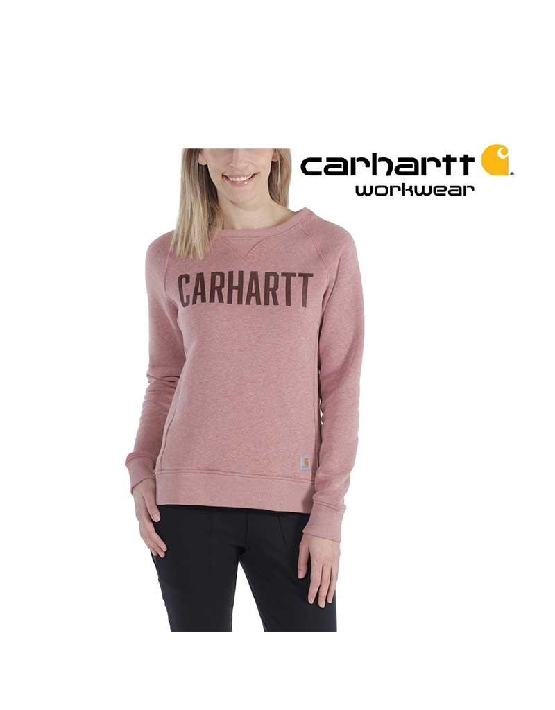 Carhartt Kleider Carhratt, Damen, Rundhalspullover, Altrosa