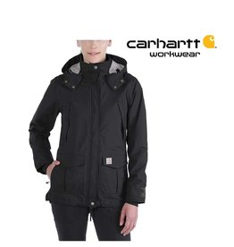 Carhartt Kleider 102382.001 - Wasserdichte, atmungsaktive Damen-Jacke
