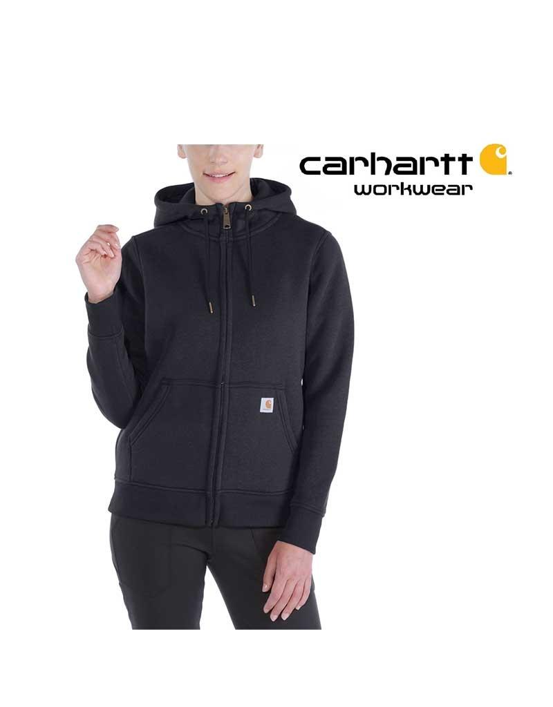 Carhartt Kleider Damen-Hoodie Regular Fit (Carhartt Relaxed Fit) mit Reißverschluss