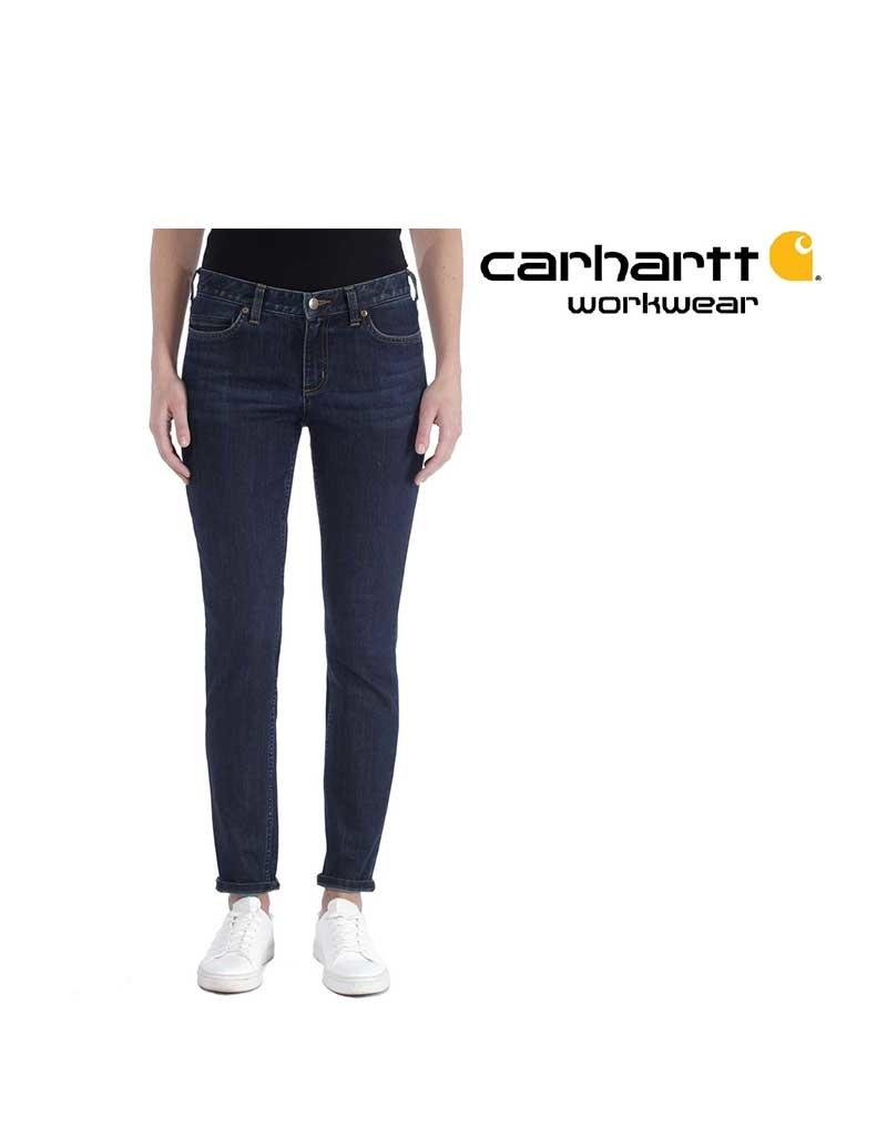 Carhartt Kleider Slim-Fit-Jeans mit engem Hosenbein
