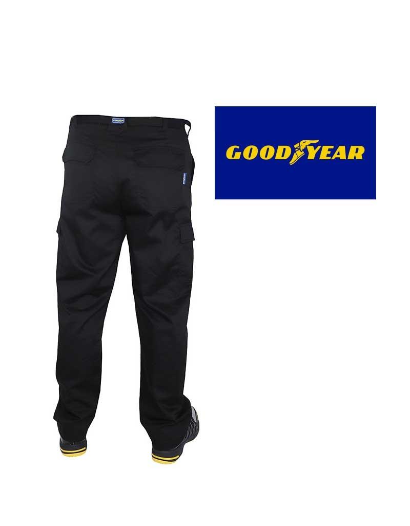 Goodyear GYPNT001 - Arbeitshose, einfach, schwarz