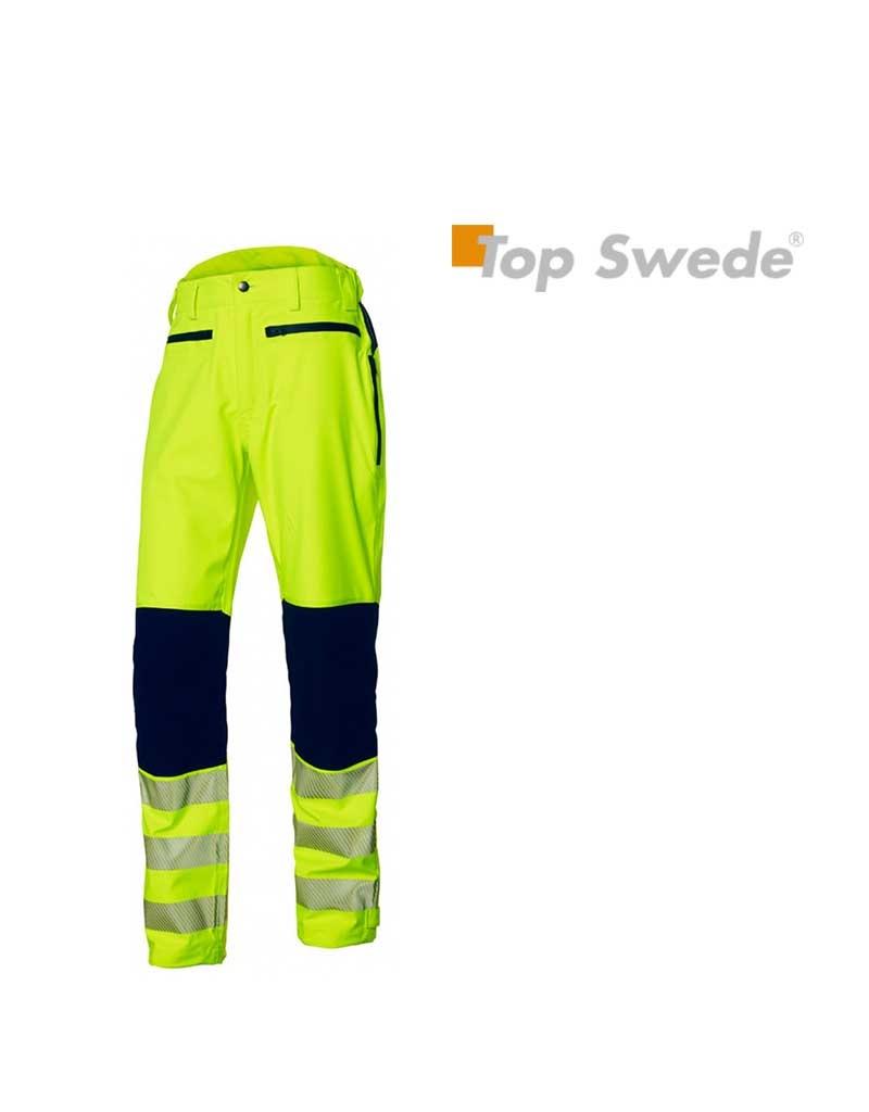 Top Swede Top Swede, Hosen Softshell Wind und Wasserfest, Gelb