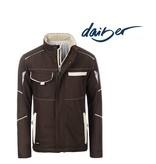 James Nicholson Workwear Softshell Padded Jacket