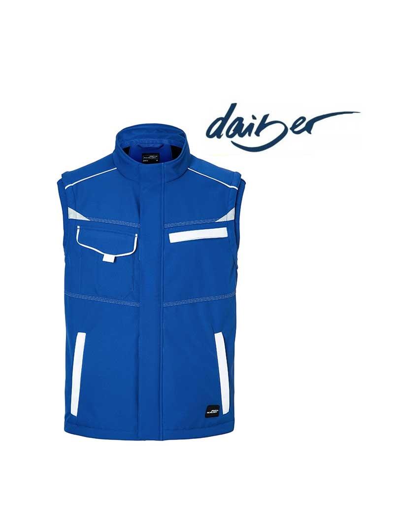 James Nicholson Workwear Softshell Vest