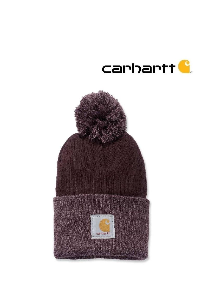 Carhartt Kleider 102240.643 - Carharttt Damen Strickmütze  - weinrot