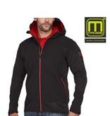 Macseis MS40007 black red - Softshelljacke von Macseis