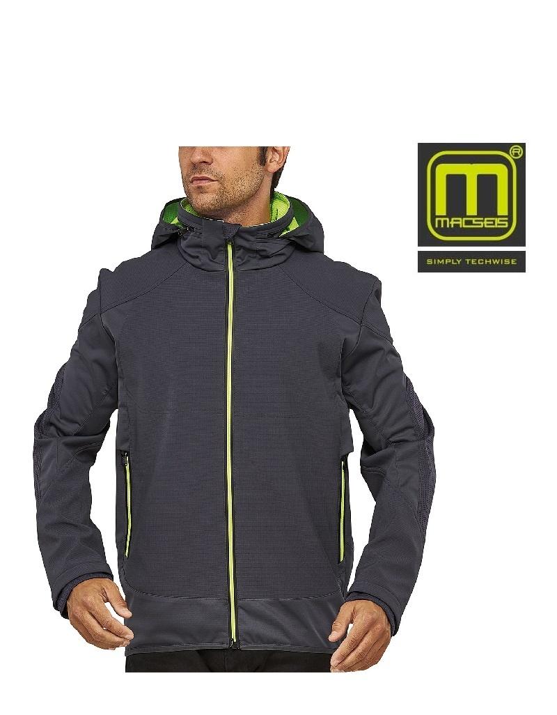 Macseis MS40005 grey - Softshelljacke von Macseis