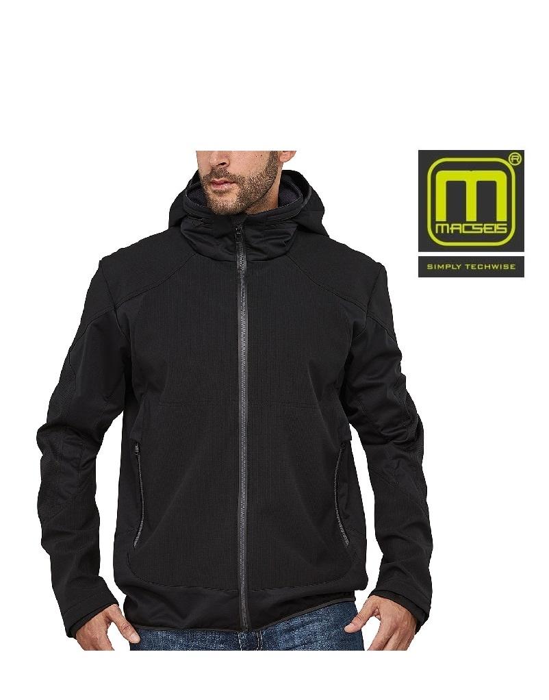 Macseis MS40001 black - Softshelljacke von Macseis